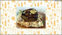 Recipe Blue Cheese Stuffed Filets with Bacon Mashed Potatoes