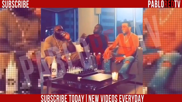 Rick Ross, P. Diddy, & French Montana Sit Down, BOSS MEETING 'WE HAVE ALOT MORE MONEY TO GET!'