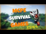 MCPE Survival Games #4: INSTANT-KARMA!!