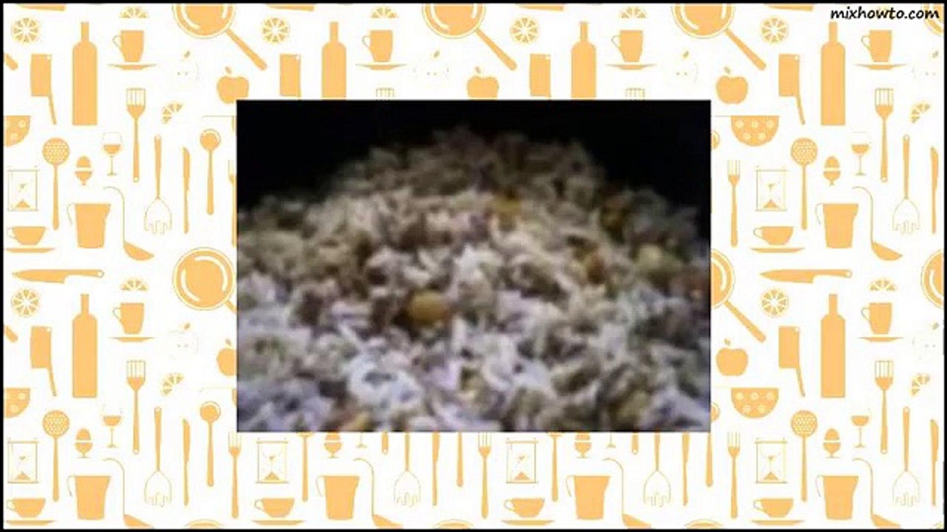 Recipe Syrian Rice recipe (Side Dish)