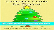 Read Christmas Carols for Clarinet: Easy to play Christmas Carols  PDF Online