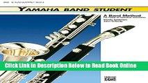 Read Yamaha Band Student, Book 2: E-Flat Alto Clarinet (Yamaha Band Method)  PDF Online