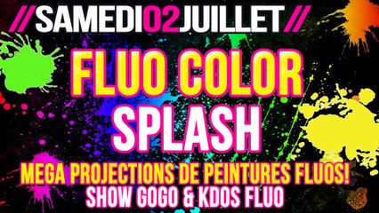 TEASER FLUO COLOR SPLASH 02-07-16