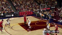 Cleveland Cavaliers vs Hybrid Toronto Raptors 1st quarter NBA 2K16 Level-Hall Of Fame [Default] Xbox