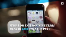 The first iPhone launched 9 years ago today!