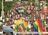 Nicaragua: comunidad LGTBI marcha por sus derechos
