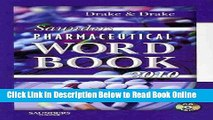 Read Saunders Pharmaceutical Word Book 2010 - Book and CD-ROM Package, 1e  Ebook Free