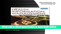 Read Student Workbook for McWay s Today s Health Information Management: An Integrated Approach,
