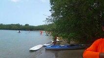 Primera regata de kayaks Club Nautico de Villa Taina Boqueron