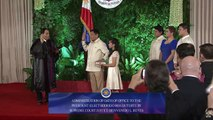 WATCH Rodrigo Duterte takes his oath as the 16th president of the Philippines