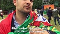 Le seul regret de notre supporter portugais ? Ne pas rester plus longtemps à Paris