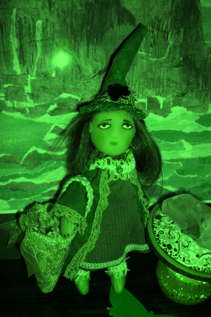 Green Witch Visits The Magic Shoppe