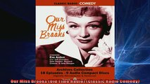 READ book  Our Miss Brooks Old Time Radio Classic Radio Comedy  FREE BOOOK ONLINE