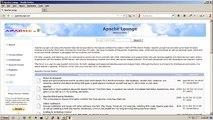 Installing Apache 2.4 VC11 (Windows 7