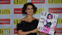 Kangana sizzles in Grazia Indias 100th issue cover Watch Video