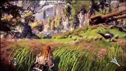 9 minutes de gameplay par Sony Japan de Horizon Zero Dawn