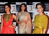 Katrina Kaif, Sonam Kapoor, Diya Mirza | L'oreal Paris Femina Women Awards 2014