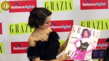 LAUNCH OF GRAZIA 100TH ISSUE WITH COVER GIRL & QUEEN OF BOLLYWOOD KANGANA