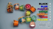 Learn Colours With Ooze and Glitter Putty! Fun Learning Contest!_13