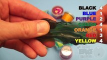 Learn Colours With Ooze and Glitter Putty! Fun Learning Contest!_14