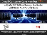 Looking For Gmail Customer Service? Dial 1-877-761-5159