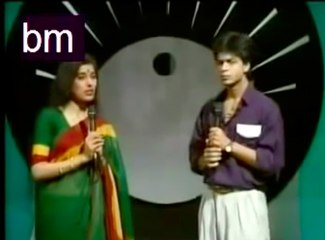 Rare Shahrukh Khan  Doordarshan Program Video going VIRAL