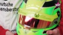 """Michael Schumacher : Son fils Mick Schumacher ne veut pas """"brûler les étapes"""" (vidéo)"""