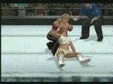 Women's Title - Mickie James vs Trish Stratus