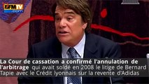 Arbitrage : Bernard Tapie va devoir rembourser 404 millions d'euros