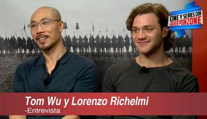 "A solas con Tom Wu y Lorenzo Richelmi / ""Marco Polo"" temporada 2"