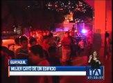 Mujer cayó de un edificio en el Cerro Las Peñas