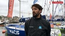 Solitaire Bompard-Le Figaro. Yoann Richomme : le leader heureux d'accoster à Paimpol