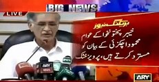Mahmood achakzai statement that kpk is owned by afghans was strongly condemned b