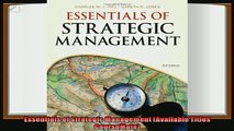 complete  Essentials of Strategic Management Available Titles CourseMate