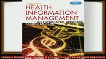 behold  Todays Health Information Management An Integrated Approach