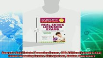 behold  Barrons Real Estate Licensing Exams 10th Edition Barrons Real Estate Licensing Exams