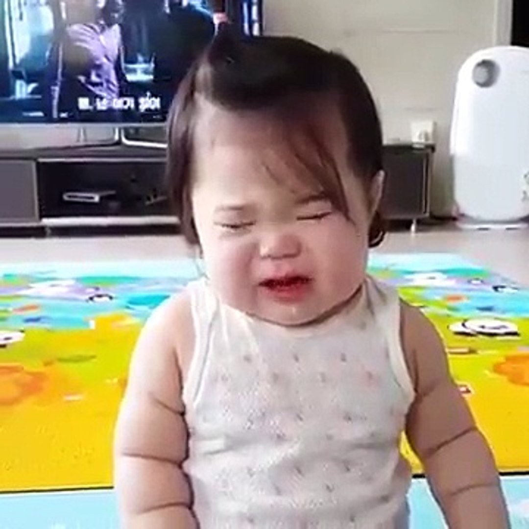 cute funny video babby crying
