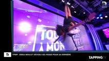 TPMP : Erika Moulet dévoile ses fesses et sa culotte pour ses adieux (Vidéo)
