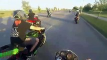 AMAZING Stunt Bike CRASH Stunter CRASHES Riding Wheelie FAIL Motorcycle Rides Wheelies ACCIDENT 2016