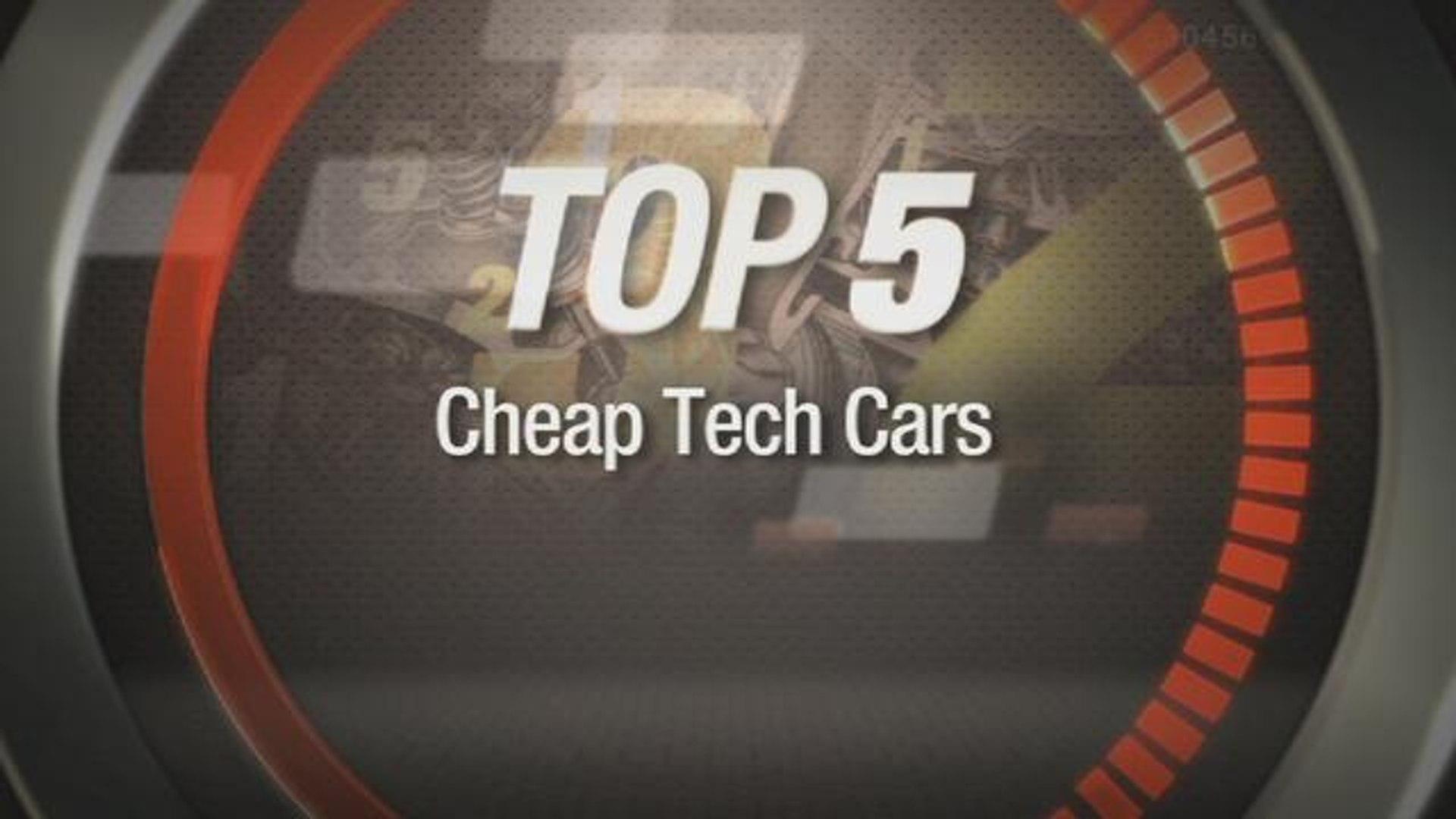 Car Tech Top 5: Cheap high-tech cars