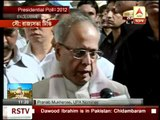 I am honoured and grateful, says Pranab after filing his nominations