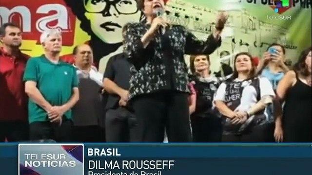 Rousseff denuncia verdaderas intenciones del golpe en su contra
