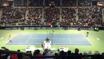 Dubai Tennis Semi Finals Roger FEDERER vs Mikhail YOUZHNY 23 Feb Monday 2015 - Stylish win !