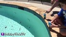 World's Biggest COOKIE MONSTER Surprise Egg! Sesame Street Toys HobbyKidsTV_13