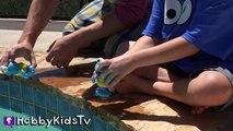 World's Biggest COOKIE MONSTER Surprise Egg! Sesame Street Toys HobbyKidsTV_14