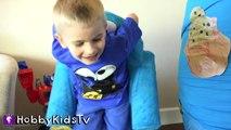 World's Biggest COOKIE MONSTER Surprise Egg! Sesame Street Toys HobbyKidsTV_17