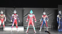 【Ultraman Hero Special show】Ultraman Ginga / Tiga / Dyna / Gaia / Agul appeared!