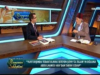 Üstad Kadir Mısıroğlu ile Ramazan Sohbetleri 30 Haziran 2016