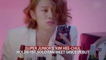 SUPER JUNIOR'S KIM HEE-CHUL HOLDS 1ST SOLO FAN MEET SINCE DEBUT