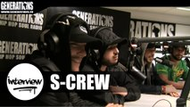 S-Crew - Interview #DestinsLiés (Live des studios de Generations)